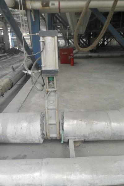 z674tc/h/y气动陶瓷双闸板阀